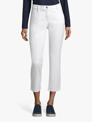 Betty Barclay Cropped Sara Jeans White