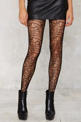 Nasty Gal Look From London Rihanna Fishnet Tights