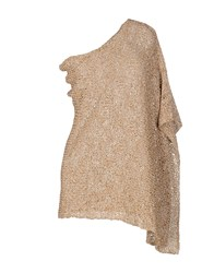 Bruno Manetti Capes And Ponchos Beige