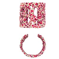 Boks And Baum Bahia Cuff Bracelet Red