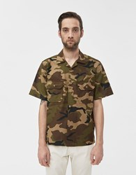 Rogue Territory Infantry Sateen Shirt In Olive Camo