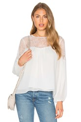Endless Rose Lace Blouse White