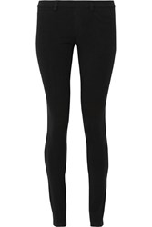 Theory Elly Two Stretch Jersey Leggings Black