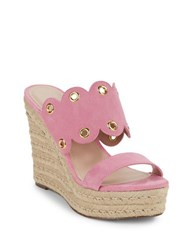 Charles By Charles David Fallon Espadrille Wedges Pink