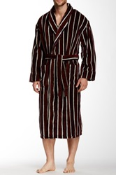 Majestic Lounge Fancy Terry Robe Brown
