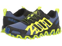 Adidas Incision Trail Collegiate Royal Core Black Solar Yellow Men's Running Shoes Blue