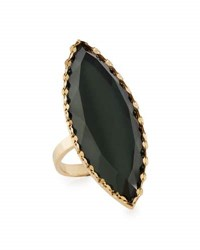 Lana 14K Midnight Marquise Ring Green