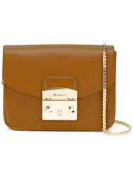 Furla 'Metropolis' Crossbody Bag Brown