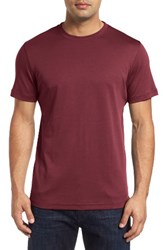 Robert Barakett Men's 'Georgia' Crewneck T Shirt Ruby Wine