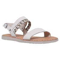 Ugg Elin Woven Strap Sandals Winter White