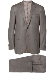 Corneliani Two Piece Suit Brown