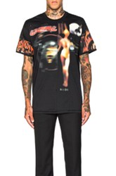 Givenchy Columbian Fit Heavy Metal Tee In Black