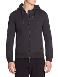 Madison Supply Zip Up Hoodie Black