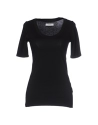 Alpha Studio Topwear T Shirts Women Black