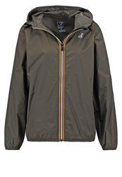 K Way Kway Claudette Outdoor Jacket Khaki