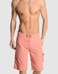 Scotch And Soda Swimwear Swimming Trunks Men Pastel Pink