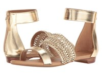 Tahari Dorm Platino Metal Pu Women's Sandals Gold