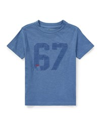 Ralph Lauren Short Sleeve Cotton 67 Tee Blue