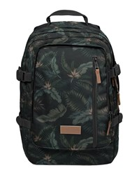 Eastpak Black Khaki Volker Print Backpack