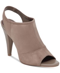Bcbgeneration Remmy Peep Toe Shooties Women's Shoes Taupe
