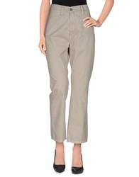 Gold Case Sogno Trousers Casual Trousers Women Grey