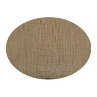 Chilewich Bamboo Oval Placemat Amber