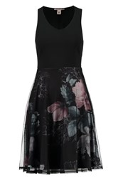Anna Field Cocktail Dress Party Dress Black Multicolour Multicoloured
