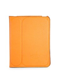 Tod's Stamped Leather Case For Ipad 2 Yellow