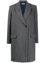 Zadig And Voltaire Fitted Single Breasted Coat 60