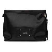 Givenchy Black Logo Tag Crossbody Bag