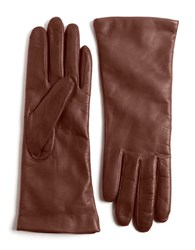 Lord And Taylor Leather Gloves Saddle