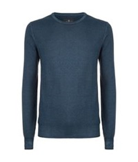 7 For All Mankind Wool Jumper Blue