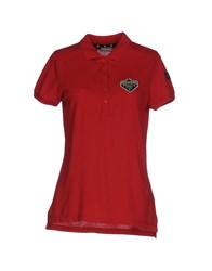 Napapijri Polo Shirts Red