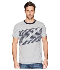 Perry Ellis Abstract Print T Shirt Dark Sapphire T Shirt Blue