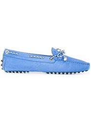 Tod's Scooby Doo Loafers Blue
