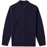 Howlin' Four Eyes Baseball Cardigan Blue