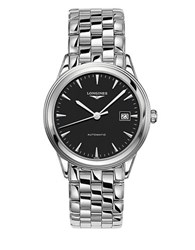 Longines Stainless Steel Automatic Watch Silver