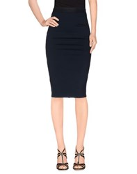 David Lerner Skirts Knee Length Skirts Women Dark Blue