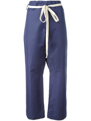 Sofie D'hoore Pilates Cropped Trousers Blue