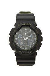 G Shock Ga 100 Military Series Black
