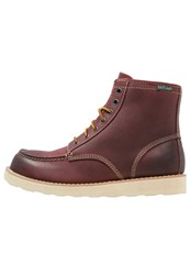 Eastland Lumber Laceup Boots Oxblood Dark Red