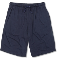 Derek Rose Stretch Micro Modal Lounge Shorts Blue