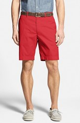 Men's Big And Tall Bobby Jones Stretch Cotton Flat Front Shorts Cambridge Red