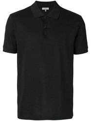 Lanvin Classic Polo Shirt Cotton Polyester Black
