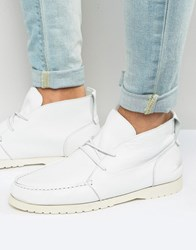 Shoe The Bear Misu Leather Boots White