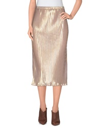 Motel Rocks 3 4 Length Skirts Light Pink