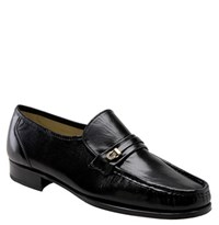 Florsheim Men's 'Como Imperial' Roll Front Moccasin Black