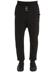 Damir Doma Cotton Jersey Drawstring Jogging Pants