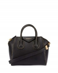 Givenchy Antigona Small Sugar Satchel Bag Black