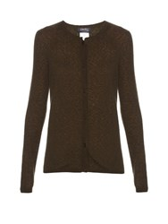 Max Mara Dick Cardigan Dark Green